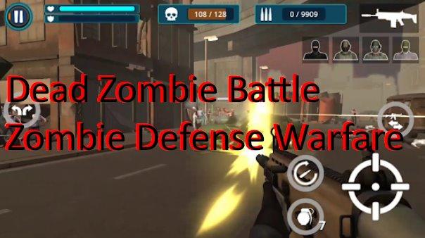 tote Zombie Schlacht Zombie-Verteidigung Kriegsführung