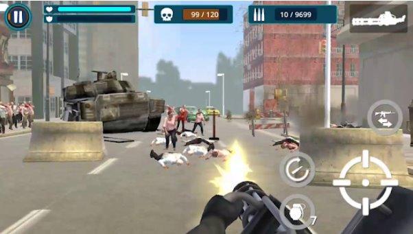 tot Zombie Kampf Zombie-Verteidigung Krieg APK Android