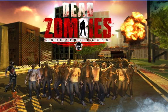 dead zombies shooting game