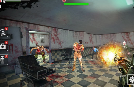 dead zombies shooting game APK Android