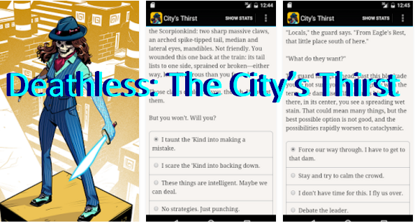 Deathless: The City's Thirst APK Android Free Download
