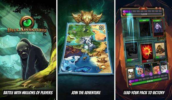 TCG Deck Adventures Wild Arena MOD APK for Android Free Download