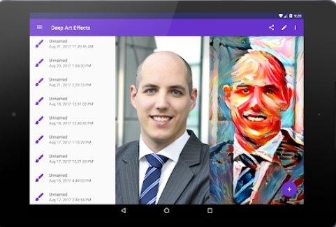effetti deep art aI filtro fotografico e filtro artistico APK Android