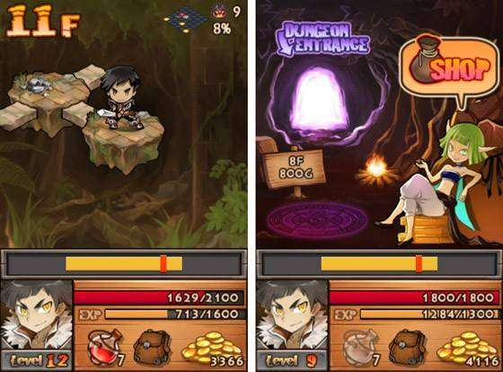 Deep Deep Dungeon MOD APK Android Game Free Download