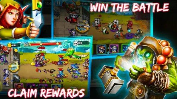 defensor heróis castelo defesa épico td jogo APK Android