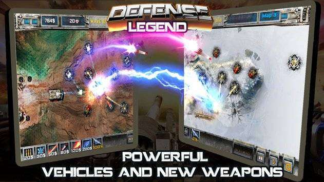 Defense Legend MOD APK Android Free download