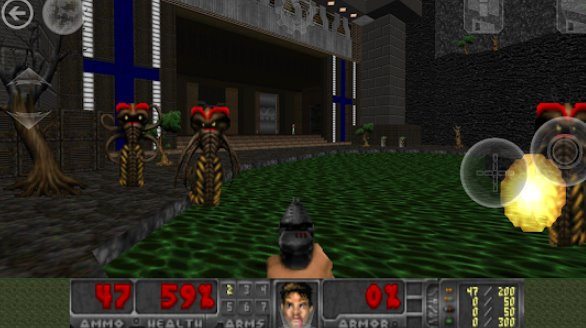 Delta Touch (THE Doom engine source port) + MOD