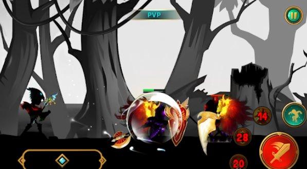 Demonio Guerrero Premium Stickman Shadow Acción RPG APK Android