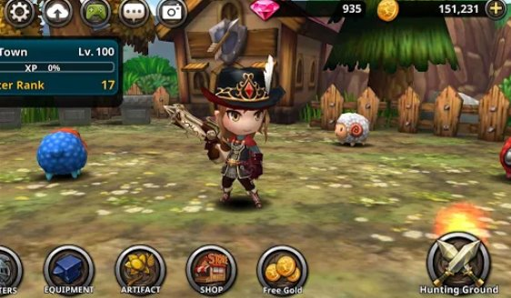 demong hunter vip action rpg APK Android