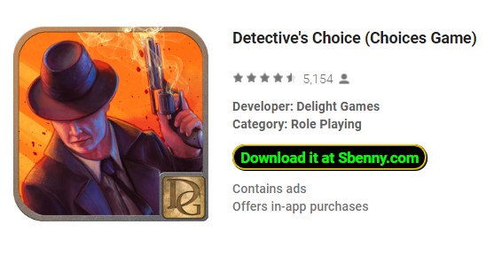 opciones de elección del detective juego