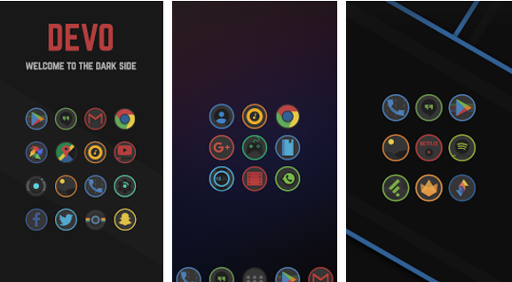 Devo Icon Pack MOD APK App for Android Free Download