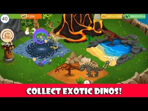 Dino World Jurassic Builder Unlimited Money Gems Mod Apk