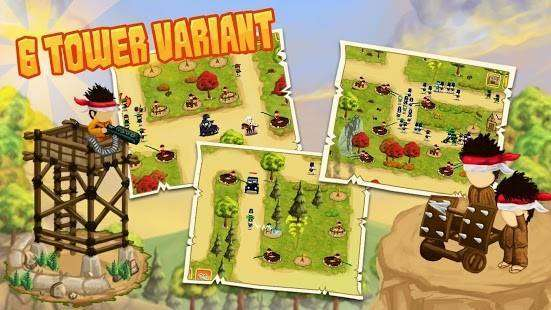 Diponegoro - Tower Defense MOD APK Android Скачать