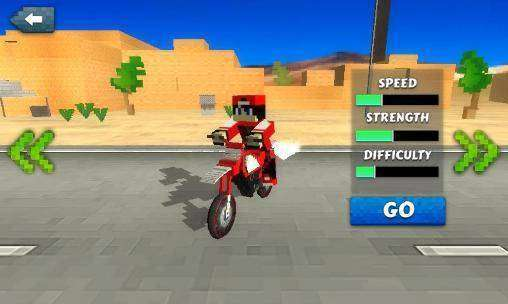 Dirtbike Survival Block Motos MOD APK Android Free Download