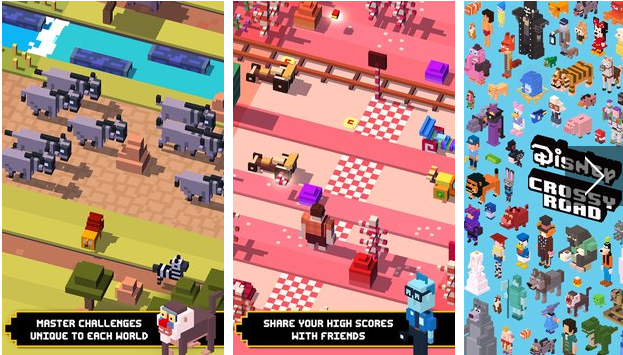 disney crossy road APK Android