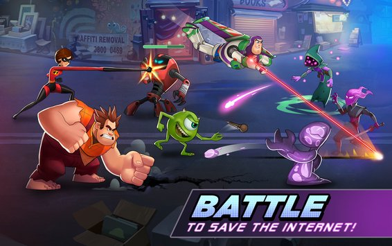 Disney Heroes: Battle Mode MOD APK Android