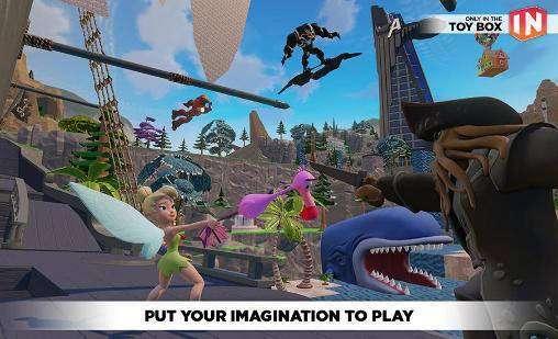 Disney Infinity: Toy Box 3.0 APK Android Spiel kostenlos heruntergeladen werden