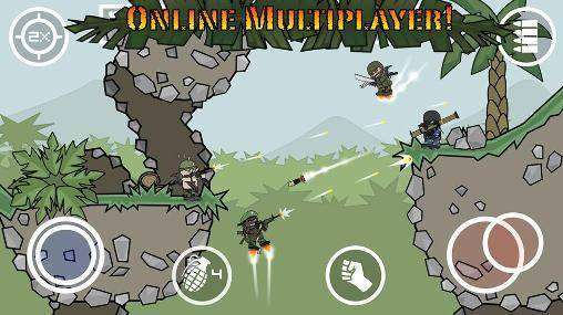 Doodle Army 2 : Mini Militia MOD APK Android Game Free Download