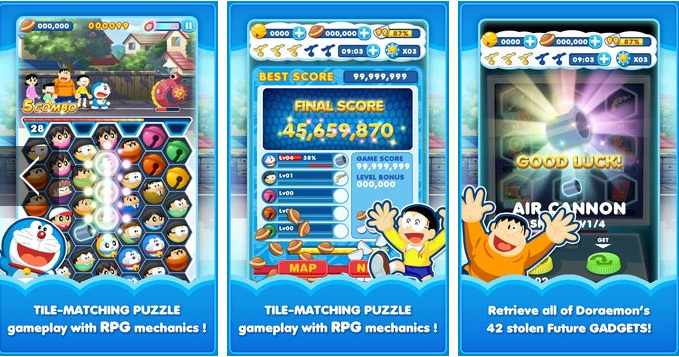 Doraemon Gadget Rush APK + MOD Android Free Download