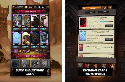 Drachenliga epische Karten Helden APK Android