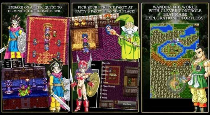 Dragon Quest III APK + DATA Android Game Download