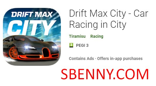 Drift Max City Unimited Coins MOD APK Free Download