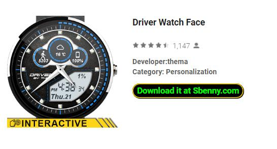 Driver Watch Face APK Android Free Download