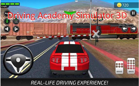 3d conducción del simulador de la academia