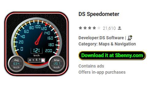DS Speedometer Pro MOD APK Download
