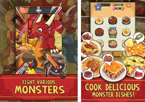 Dungeon Chef Kampf und Koch Monster APK Android