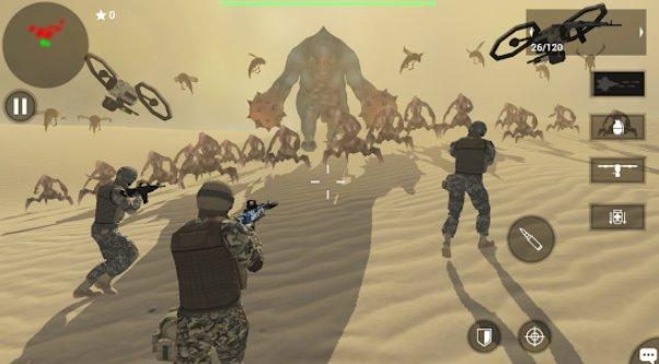 Terre protéger équipe troisième jeu de tir APK Android