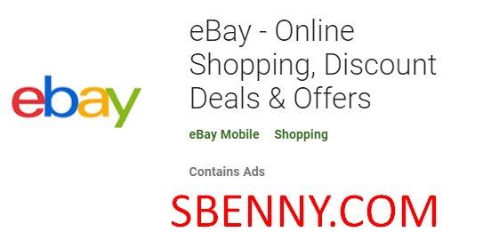 ofertas y descuentos de compras en línea de eBay