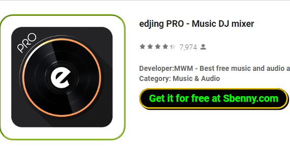 edjing PRO - Music DJ mixer APK for Android Download