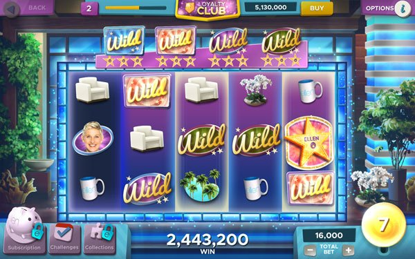 Ellen's Road to Riches Slots MOD APK Android