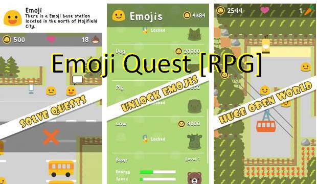 emoji rpg quest