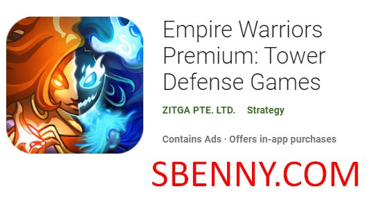 Empire Warriors Premium Tower Defense-Spiele