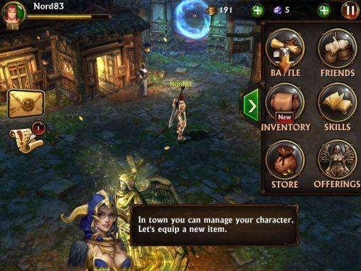 ETERNITY WARRIORS 3 APK MOD Android Télécharger