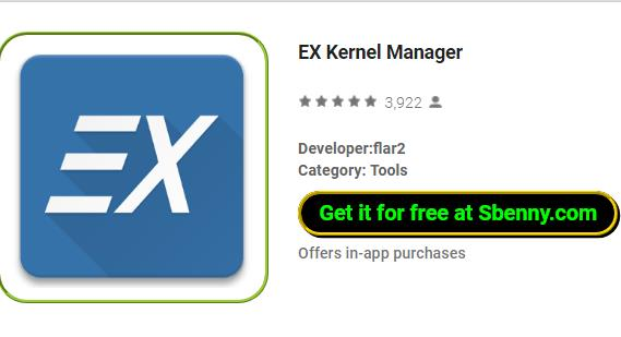 EX Kernel Manager APK for Android Free Download