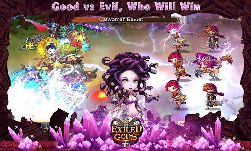 Exiled Gods MOD APK Android Game Free Download