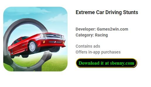 extreme Autofahr-Stunts
