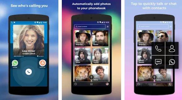 ID chiamante eyecon chiama rubrica e contatti APK Android