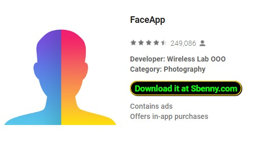 FaceApp Pro Premium MOD APK Android Free Download