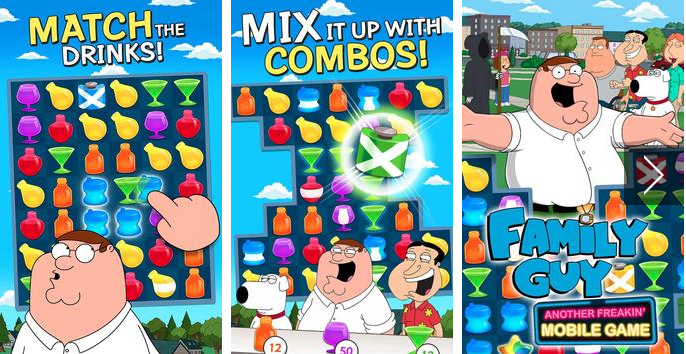 family guy jeu mobile Freakin APK Android