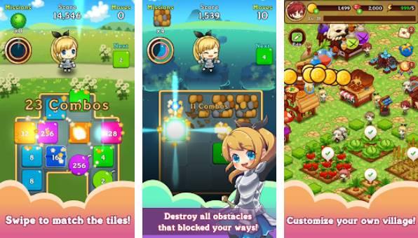 Fantasy-Geschichte 2048 APK Android