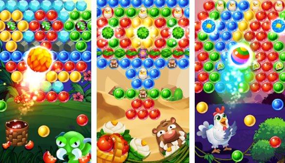 farm fruit pop bubble shooter APK ANdroid