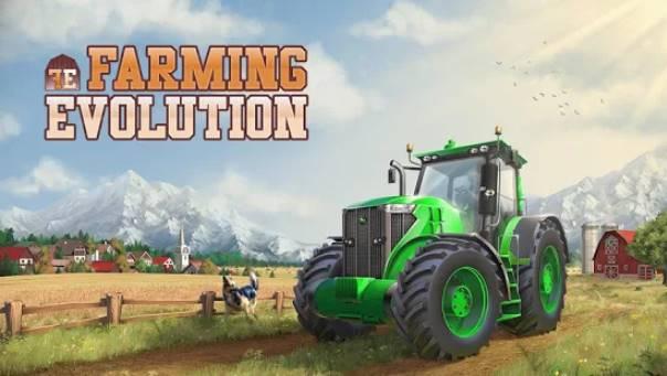 Landwirtschaft Evolution Traktor