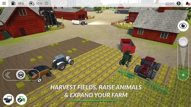 Скачать farming pro 2015 симулятор фермера на андроид.
