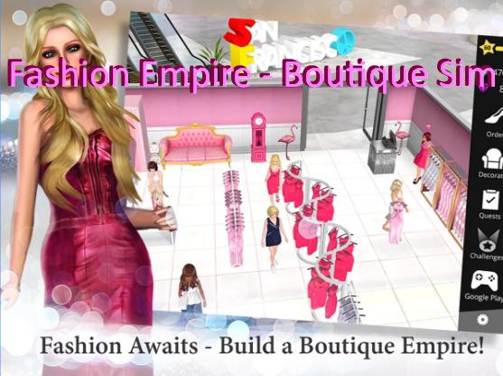 fashion empire boutique sim unlimited gems money mod apk