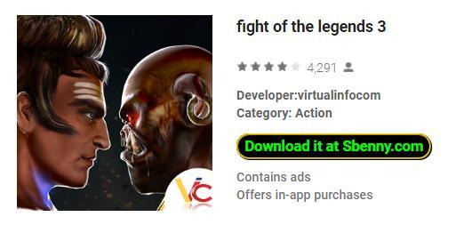 lucha de las leyendas 3