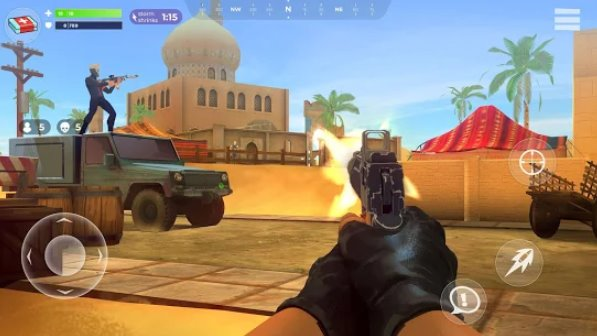 fightnight battle royale fps shooter APK Android